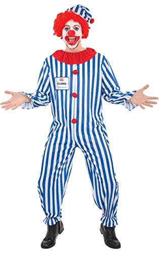 Erwachsene Zirkus Clown Billig Wert Verkleidung Karneval Fasching Kostüm Extra - Clown Kostüm Billig
