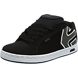 Pisahuevos Etnies Fader, Zapatillas de Skateboard para Hombre, Negro (562-Black/Dark Grey/Silver), 40 EU