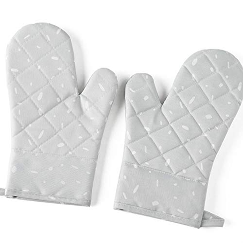 Provide The Best 1 Paar Mikrowelle Glove Grill Ofen Backen Hot Pot Mitts Kochen hitzebeständige Küchen Fäustlinge - Hot Mitt