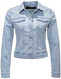 db724859e9d Vero Moda Women's Vmhot SOYA Ls Denim Jacket Mix Noos