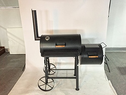 KIUG® XXL 'Texas' Smoker Barbecue Charcoal Grill, Approximately 55 kg2.0 mm Professional Quality Steel.