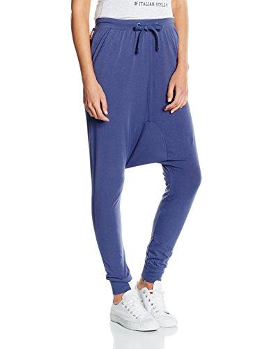 Leone 1947 Pantalón Harem Azul S