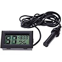 Intellatrust (TM) Mini Digitale LCD Termometro Umidità Tester elettronico 2015 nuovo igrometro temperatura Temp Gauge Meter