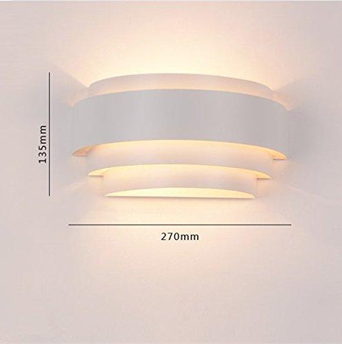 Glighone applique da parete interni lampada a muro for Lampada a led camera da letto