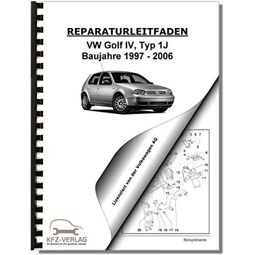 VW Golf 4, Typ 1J (97-06) 4-Zyl 1,4/1,6l Benzinmotor 75-105PS Reparaturanleitung