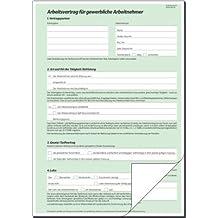 Suchergebnis Auf Amazonde Für Arbeitsvertrag Für Gewerbliche