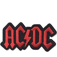 coolpart ACDC AC/DC Rock Band Logo musica heavy metal punk band Logo Patch Sew Ferro Su Logo ricamato cartello costume regalo perfetto cerotti