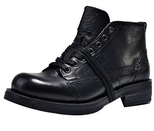 Insun , Herren Stiefel, braun - Coffee - Größe: 41.5 - Cold Weather Combat Boots