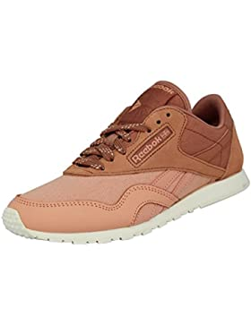 Reebok CLAssIC NYLON SLIM CORE Scarpe Sneakers Rosa per Donna