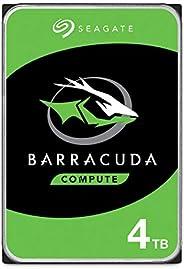 محرك اقراص صلب داخلي سيجات باراكودا 4 تي بي، 3.5 انش ساتا 6 جيجابت/ ث 5400 دورة في الدقيقة 256 ميجابت للأجهزة