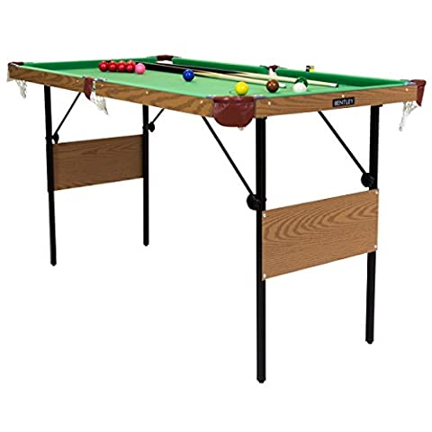 Charles Bentley 2 in 1 4Ft 6 Inch Green Snooker