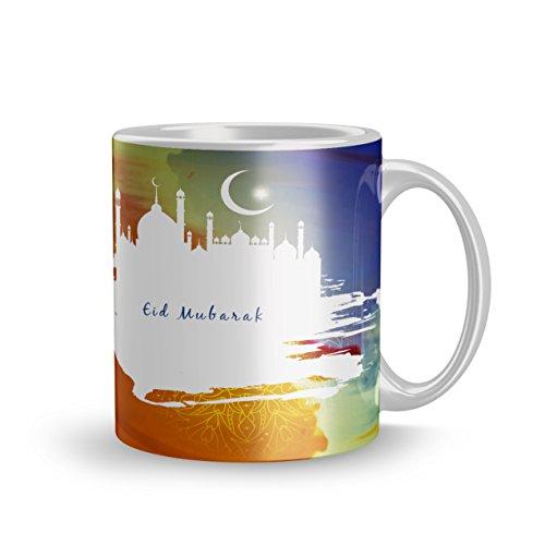 Dreamcart printed mug 320ml Eid mubarak gift Eid mubarak mug gift for...