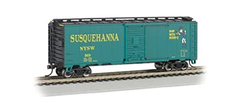 Bachmann Industries HO Scale 40' Box Car New York, Susquehanna and Western (Suzy Q)