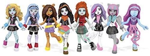 Mattel Mega Bloks CNF78 - Monster High Ghouls Kollektion Series (Von High Charaktere Monster Alle)