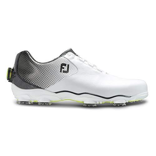 Footjoy Herren D.n.a Helix Golfschuhe, Weiß (Blanco/Negro 53319), 43 EU (Golf 10 Footjoy Schuhe Sport)