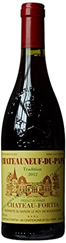 Chateau Fortia Chateauneuf-du-Pape Tradition Red Rhone Valley 2011/2012 Wine, 75 cl