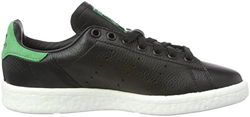 adidas Stan Smith Boost, Sneakers Basses Mixte Adulte Noir (Core Black/core Black/green)