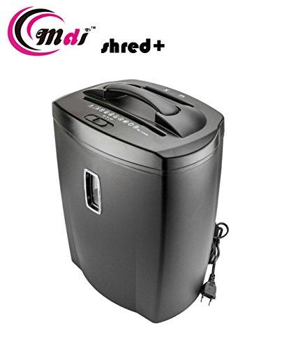 MDI Shred Plus Cross Cut Paper Shredder / Trimmer with 21 L waste Bin