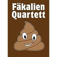 Fäkalien Quartett - Das extrem scheiße Kartenspiel rund um das stille Geschäft - Das WC & Toiletten Kackspiel