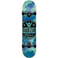 Darkstar 10512207 - Monopatín completo, 7,875FU, color azul