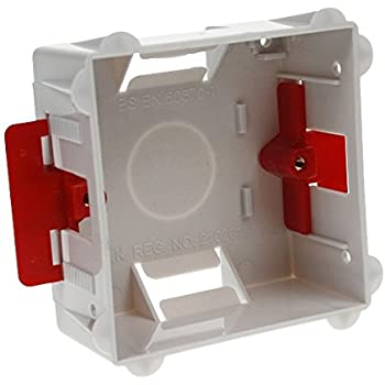 Pack of 5 Contactum DLBD35 35mm Dual Dry Lining Box