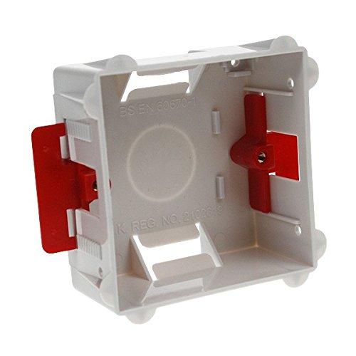AET dlbb1g3535mm Single 1Gang Trockenbau Unterputzdose Gerätedose zurück Box–Farbe kann variieren