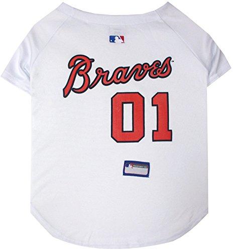 Pets First MLB Pet Jersey.-Baseball Hund Jersey.-Erhältlich in 29MLB Teams.-Pet Jersey.-Hund Jersey.-MLB Jersey für Hunde.-Pet Shirt.-Hunde Shirt