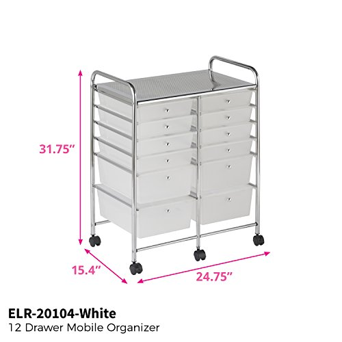 ECR4Kids Mobile Organizer with Drawers