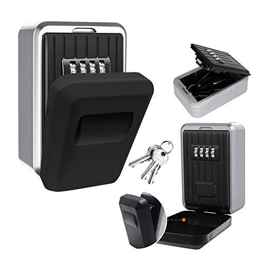 Türriegelschlösser Schlüsselsafe Schlüsselkasten Schlüsseltresor Schlüsselbox Schlüsselschränke Schlüsselsicherheit Key Lock Box mit 4-stelliger Zahlencode