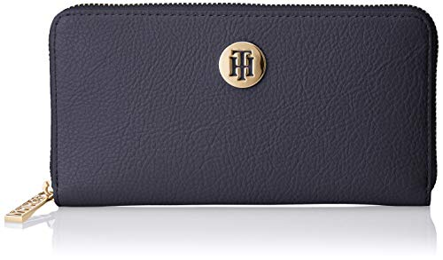 Tommy Hilfiger Damen Th Core Lrg Za Wallet Geldbörse, Blau (Corporate), 2.5x10x19 cm