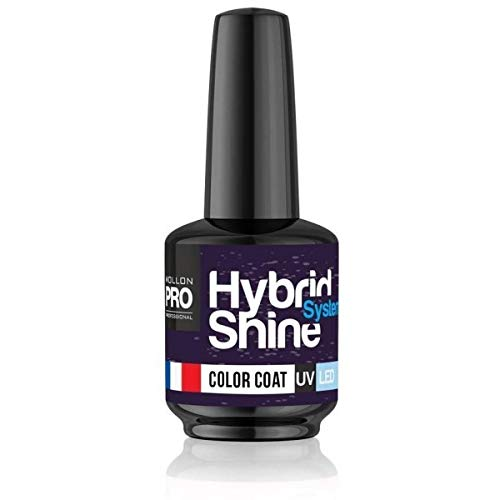 Mini-Nagellack, semi-permanent, Hybrid Shine Mollon Pro, 8 ml, 281 – Fishing Net