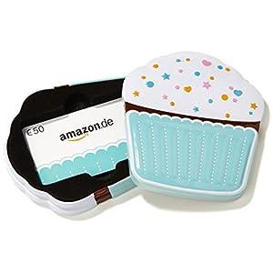 Amazon.de Box mit Geschenkkarte - 50 EUR (Muffin)