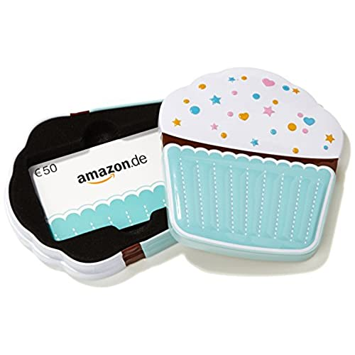 Amazon.de Box Mit Geschenkkarte   50 EUR (Muffin)