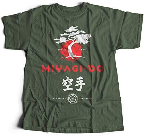 41Z007KrkAL - Camiseta Miyagi-Do verde