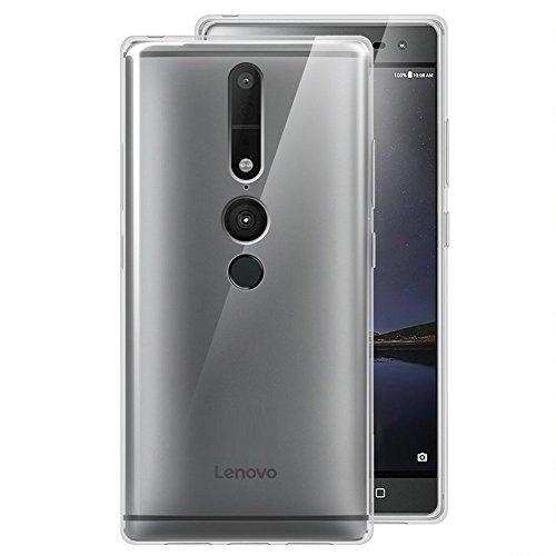 MaxKu Lenovo PHAB2 Pro Hülle, Ultra Slim Schutzhülle Soft Silikon TPU Bumper Case Cover Handyhülle für Lenovo PHAB2 Pro, Transparent