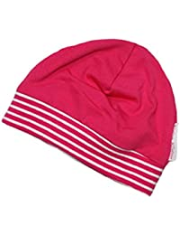 Babymütze Jersey Uni Pink