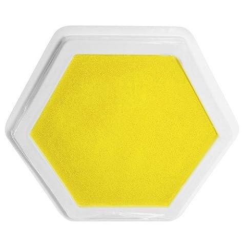 Sunnysue Riesenstempelkissen Gelb