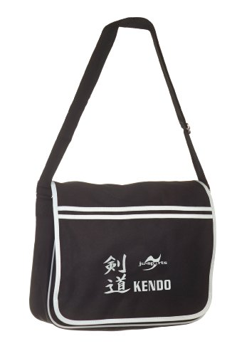 Retro Messenger Bag schwarz Kendo