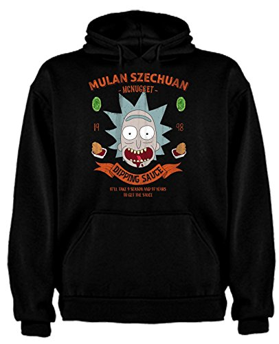 Sudadera de Rick and Morty Divertida Friky Smith Tiny Mulan niños 9-1