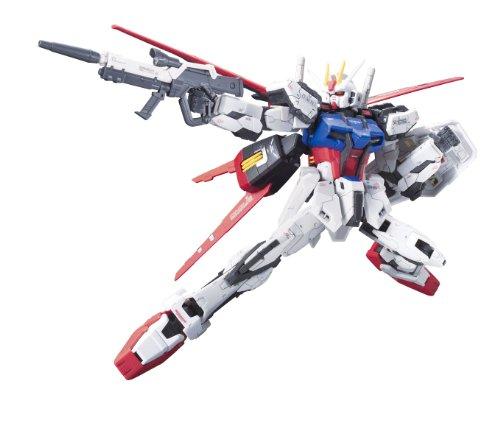 Preisvergleich Produktbild Bandai Mobile Suit Gundam Seed Model Kit Real Grade GAT-x105 Aile Strike 13 cm