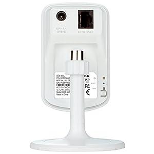 D-Link DCS-932L - Cámara WiFi y Ethernet videovigilancia IP (micrófono y visión Nocturna, Compatible con App mydlink para iOS y Android)