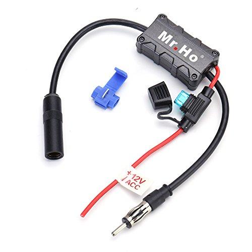 Signal Verstärker FM AM für Fahrzeug 12V Audio Stereo Radio Autoradio Verstärker Antennenverstärker Booster (Pferd-radio)