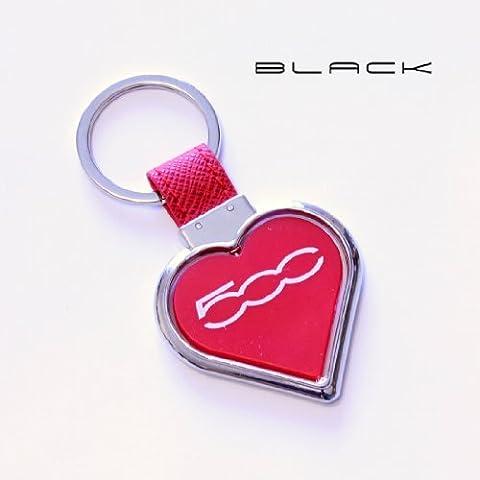 Black IT 1425BlackIT - Llavero, diseño de corazón, con logo