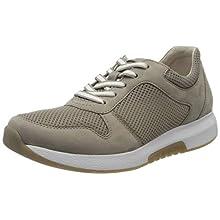 Gabor Women's Rollingsoft Low-Top Sneakers, Brown (Visone 33), 7.5 UK