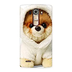 Gorgeous Boo Dog Multicolor Back Case Cover for LG G4