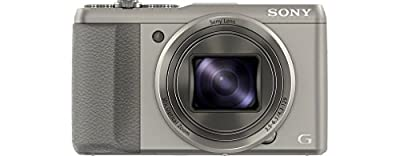 Sony DSC-HX50 Digitalkamera (20,4 Megapixel, 30-fach opt. Zoom, 7,6 cm (3 Zoll) LCD-Display, Full HD, WiFi) inkl. 24mm Sony G Weitwinkelobjektiv schwarz