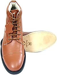 ASM Police Uniform Officer's Leather Ankle Oxford Shoes With Leather Upper, Leather Insole, Leather Lining And...