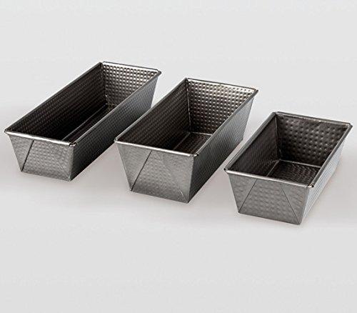 Life Style - Molde de Horno Plumcake - Acero Reforzado - 25 x 11 x 8 cm - Revestimiento Antiadherente