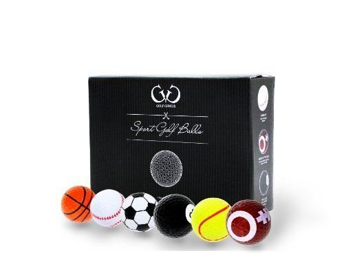 golf-genius-novelty-gift-set-of-6-sports-golf-balls-great-gift-for-any-golfer-gift-boxed