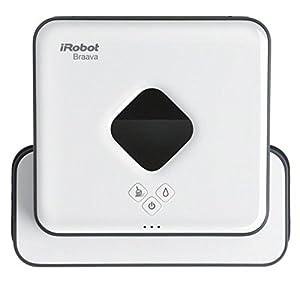 iRobot Braava 390t Wischroboter (für mehrere Räume und große Flächen, Reinigt Flächen bis zu 92,9m²) weiß